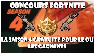 (en/Ps4) Fortnite: LAST DAY FOR WIN 3 SAISON PAS 4
