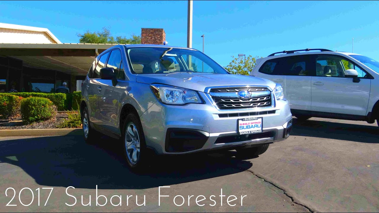 2017 Subaru Forester 2 5 L 4 Cylinder Review