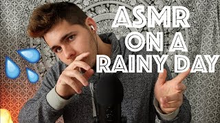 ASMR On A Rainy Day (Whispers, Mic Blowing, Ramble)