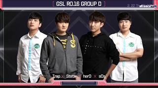 [ENG] 2018 GSL S1 Code S RO16 Group D