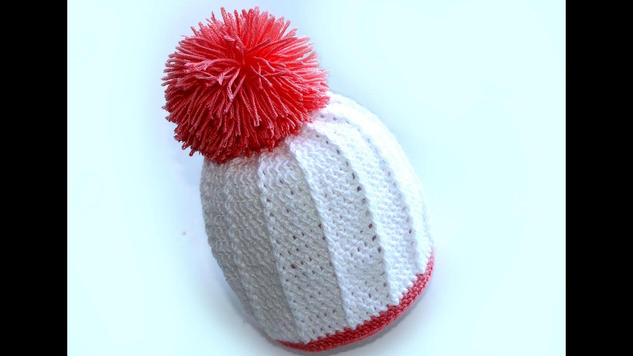 Как сделать бумбончик на шапку