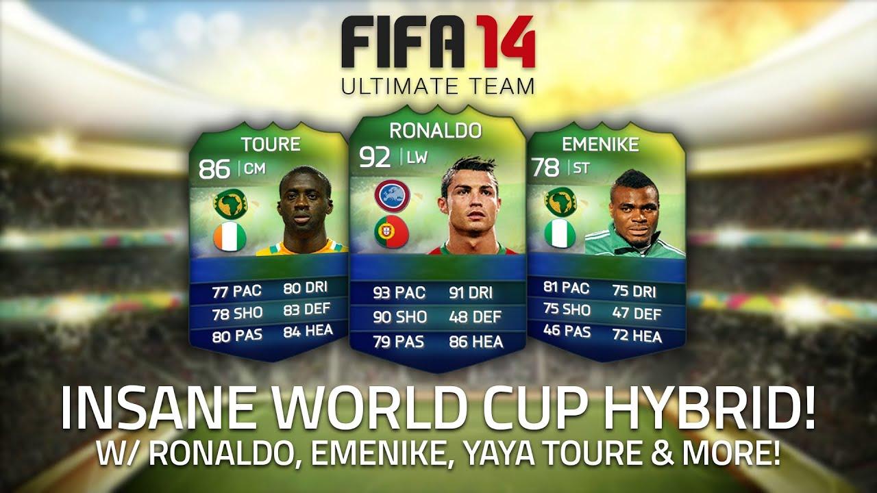 INSANE WORLD CUP HYBRID! w/ RONALDO, EMENIKE & YAYA TOURÉ ...