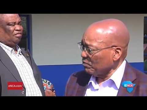 I am very happy: Jacob Zuma