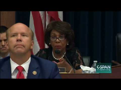 Maxine Has Meltdown Over Mnuchin