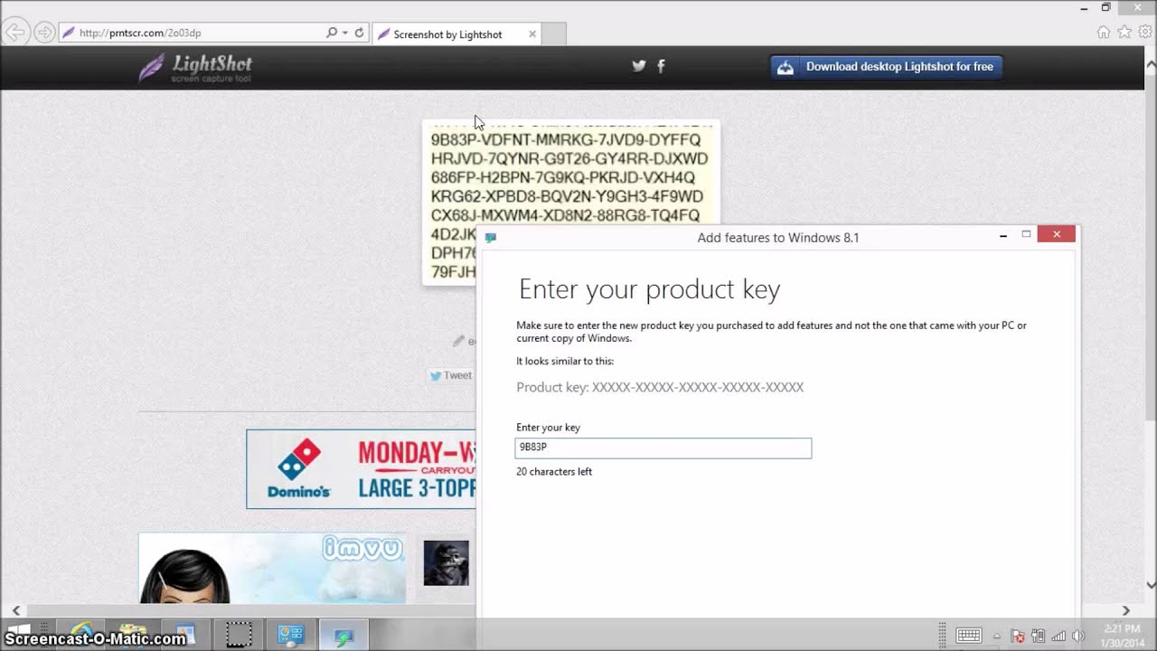 add features to windows 8 product key free