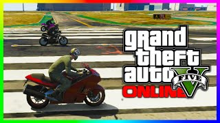 GTA 5 NEW FASTEST BIKE IN THE GAME? - Shitzu Hakuchou vs Akuma vs Bati810RR (GTA V)