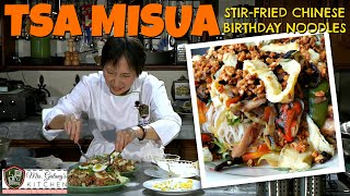 TSA MISUA or STIR FRIED CHINESE BIRTHDAY NOODLES (Mrs.Galang's Kitchen S5 Ep1)