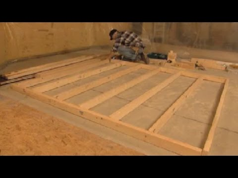 Construction et mise en place d 39 un mur int rieur youtube for Isolation interieur murs