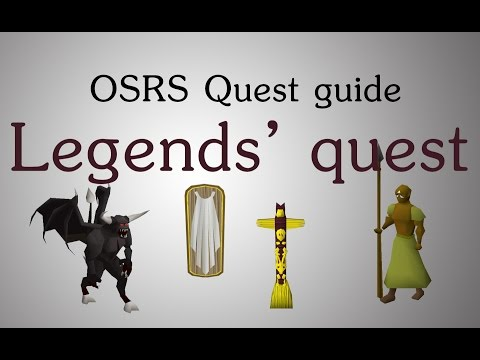 [OSRS] Legends' Quest Guide
