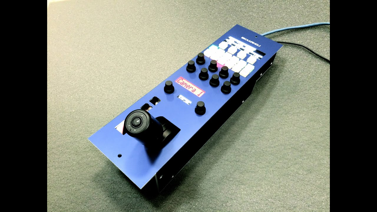 Rcp For Ursa Mini Pro Blackmagic Cameras Sneak Peak 1 By Electronics Technology 02 08 12 Skaarhoj Youtube