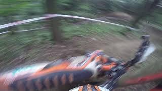Enduro sprint Palkovice 13.8.2017 - crash enduro test