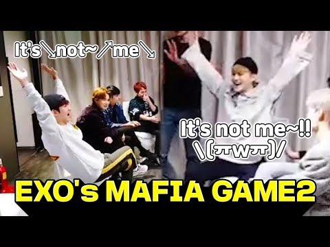 (ENG Sub) [V LIVE] EXO - EXO's Super Fun Mafia Game2