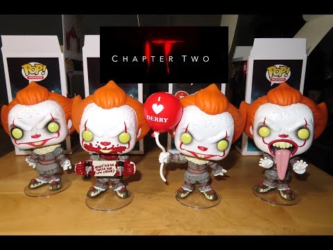IT Chapter 2 PENNYWISE Funko Pop Collection unboxing & review HOT TOPIC EXCLUSIVE