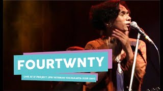 [HD] Fourtwnty - Diam Diam Kubawa 1 (live at IF PROJECT, GOR UNY, September 2017)