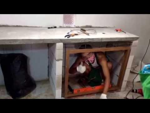 ทำตู้เคาน์เตอร์ ห้องครัวเอง