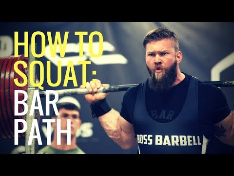 How To Squat - Bar Position vs Bar Path | The Muscle Doc