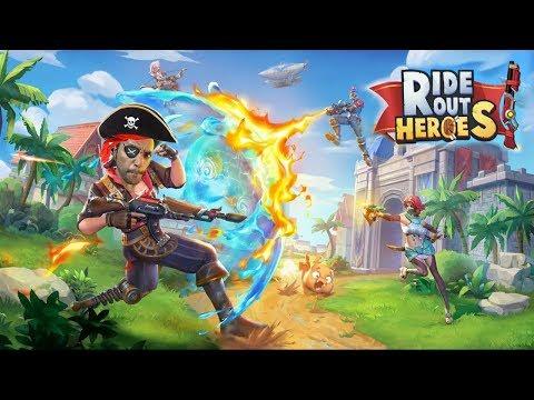 Ride Out Heroes: O MELHOR BATTLE ROYAL DE TODOS!!! Magias, armas e muita diversão!!! #ZigIndica42 - Omega Play