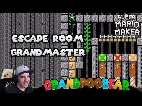 GrandEscapeBear Presents The Grand Escape Room Mario Maker