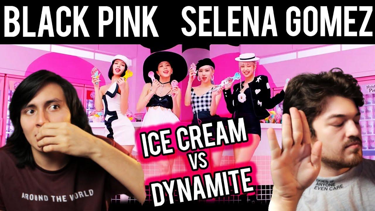 ICE CREAM VS DYNAMITE (BLACK PINK - SELENA GOMEZ, BTS)