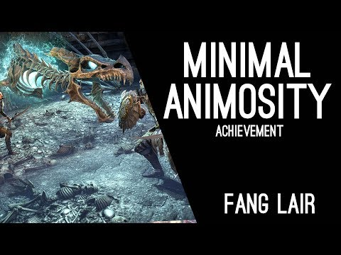 Minimal Animosity Fang Lair Achievement - Dragon Bones DLC ESO