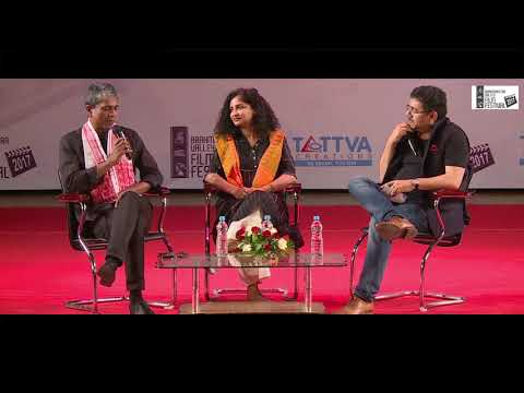 Gauri Shinde and Adil Hussain at the 5th Brahmaputra Valley Film Festival