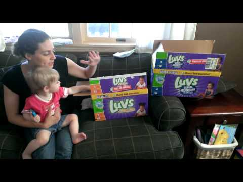 Luvs Ultra Leakguards Diapers Review