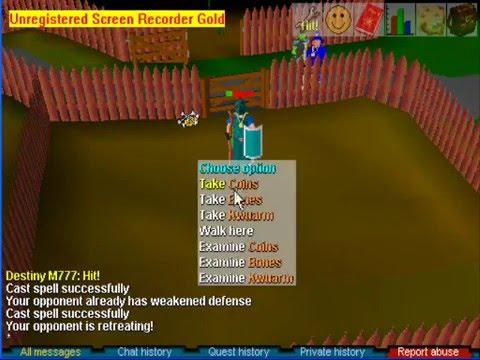 A3dy0wnsu Runescape Classic Mage Youtube