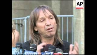 French climber Alain Robert in court after climbing NY Times building
