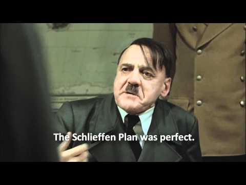 Hitler Rage - The Schlieffen Plan