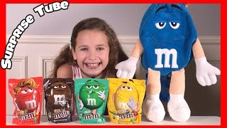 Kimmy with M&M Chocolate Candy Backpack