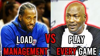 Is Load Management A Problem For The NBA?
