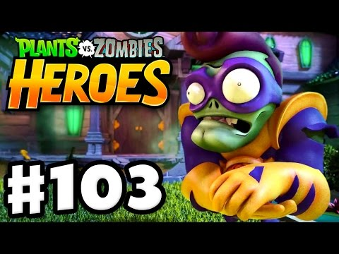 WORLDWIDE RELEASE! - Plants vs. Zombies: Heroes - Gameplay Walkthrough Part 103 (iOS, Android)