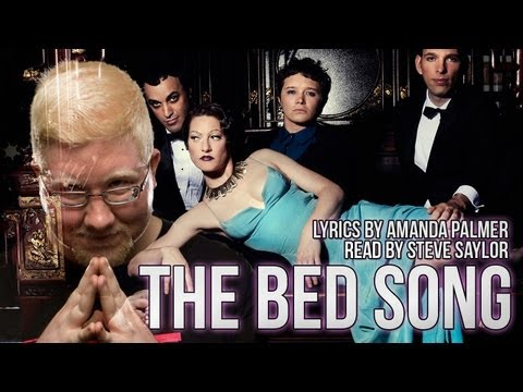 The Bed Song - By Amanda Palmer & The Grand Theft Orchestra - Lyrics Read by Steve Saylor mp3