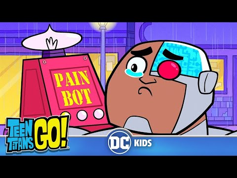 Teen Titans Go! KARAOKE | All I Know Is Pain | DC Kids