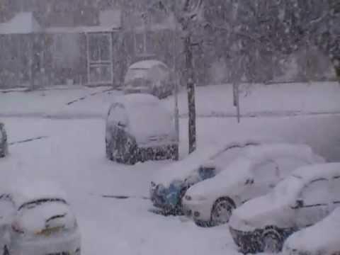 Snow at Basildon, UK, 2010