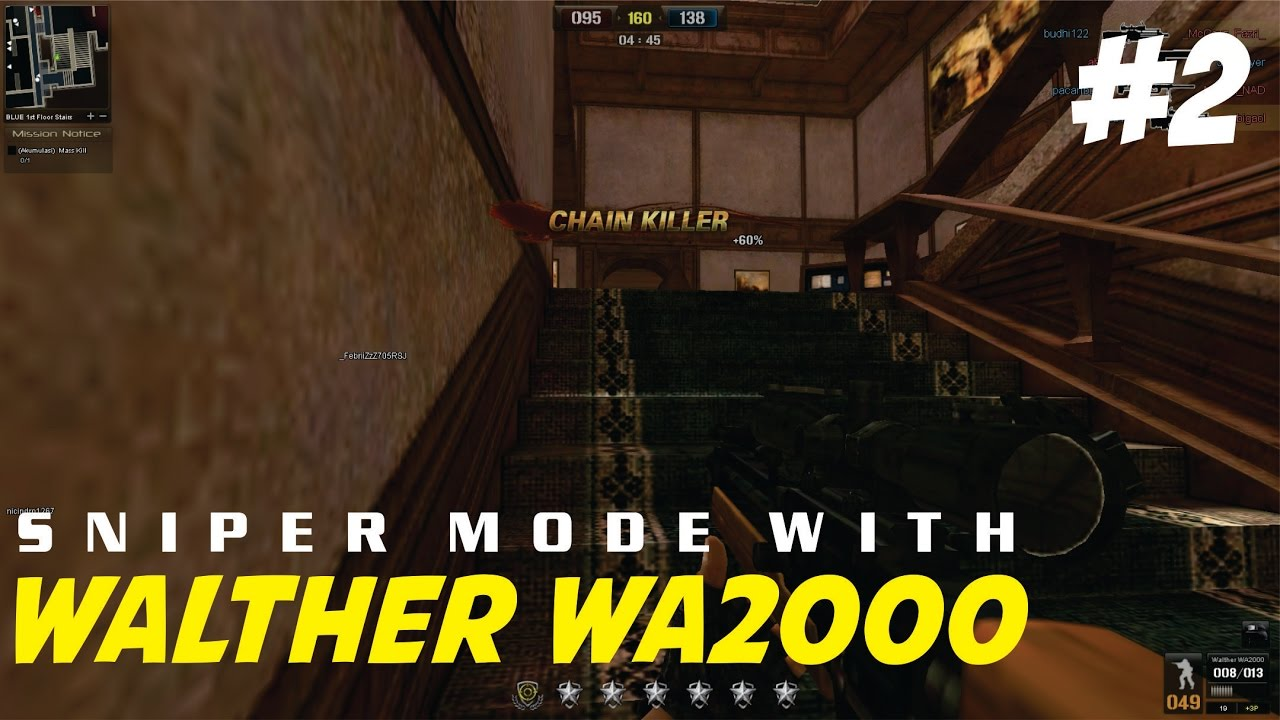 Point Blank Garena | Sniper Mode #2 With Walther WA2000