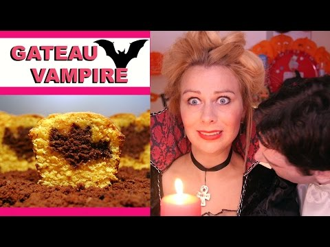 Gâteau Vampire [Recette Halloween] ♡ Virginie fait sa cuisine [64]