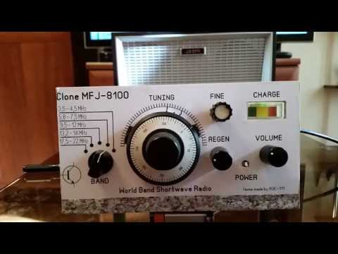 TRRS #0103 - MFJ-8100 Shortwave Regenerative Receiver Review