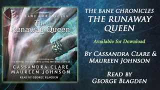 George Blagden on narrating THE RUNAWAY QUEEN