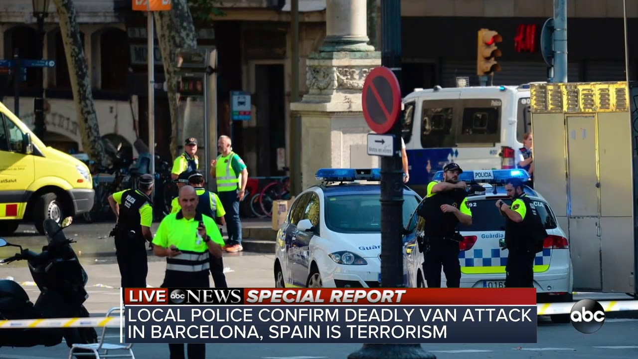 SPECIAL REPORT: At least 1 dead in Barcelona terror attack | ABC News