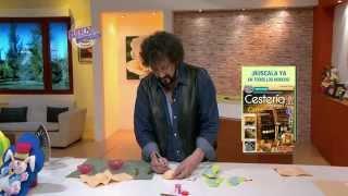 Jorge Rubicce  - Bienvenidas TV en HD - Modela un souvenir mariposa en goma eva 3d.