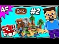 Lego Minecraft 21116 CRAFTING BOX Build #2 Animated Stop Motion Review