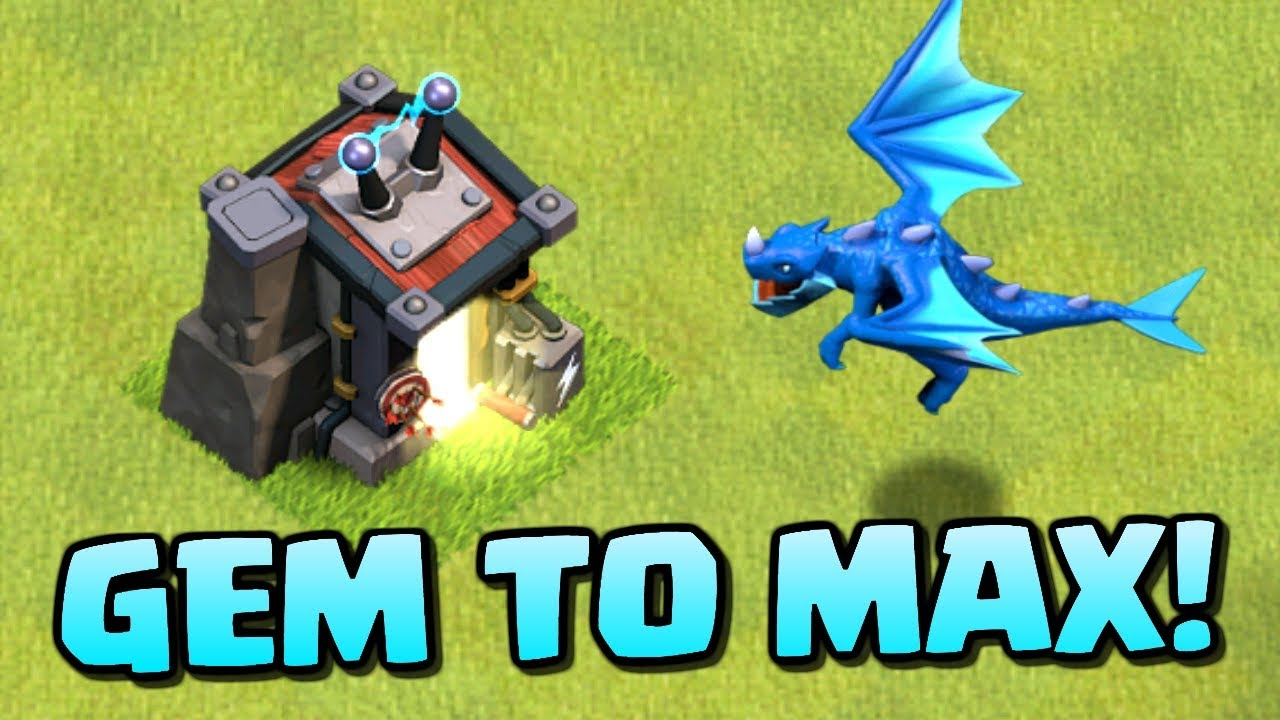 Gem To Max Electro Dragon Levels 1 3 Electric Dragon Attacks In