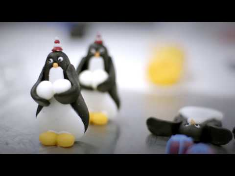 M&S Food: Meet the Baker of the Penguin Party Cake
