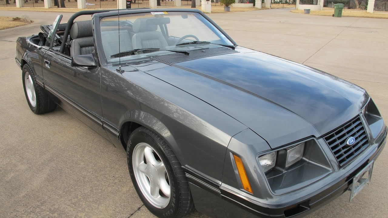 1984 mustang gt 5 speed 5 0 efi 58 000 miles for sale in texas youtube. Black Bedroom Furniture Sets. Home Design Ideas