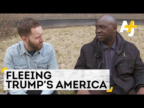 In Trump's America, Refugees Are Fleeing For Canada [Divided America, Pt. 2]   AJ+ Docs