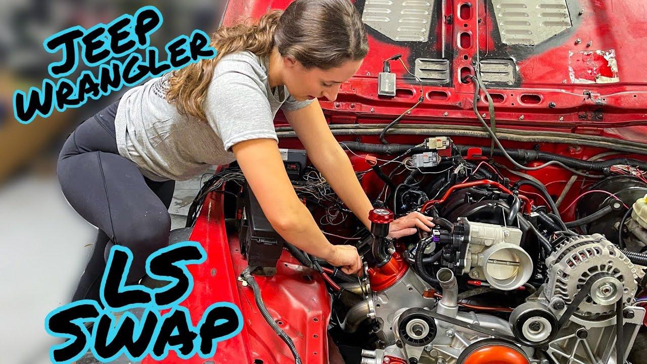 My Jeep LS Swap is SOOO CLOSE!!