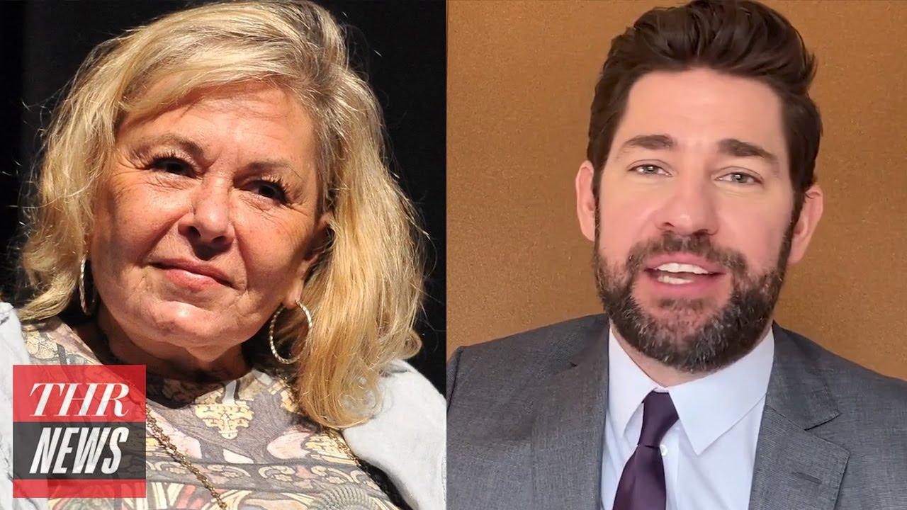 Roseanne on COVID-19 a Ploy to Kill Baby Boomers, John Krasinski Spreads More 'Good News'   THR News
