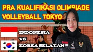 INDONESIA VS KOREA SELATAN - Est cola women's tokyo voleyball qualification