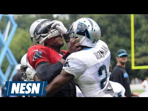 Panthers Teammates Cam Newton And Josh Norman Fight